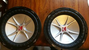 """10"""" cvr kickers 4 ohms for Sale in San Angelo, TX"""