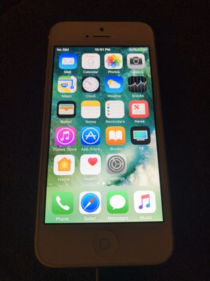 Factory unlocked iPhone 5 with 32gb for Sale in Boston, MA