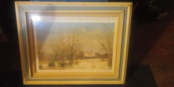 Signed Carroll Collier Lithograph
