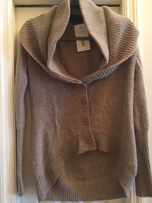 TOP SHOP Tan Taupe knit button cardigan Size Small for Sale in Palmetto, FL