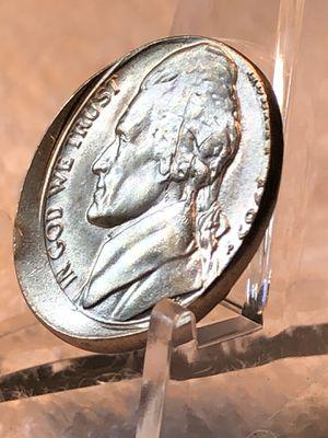 JEFFERSON OFF CENTER Error Nickel in Beautiful BU Condition for Sale in Jacksonville, FL