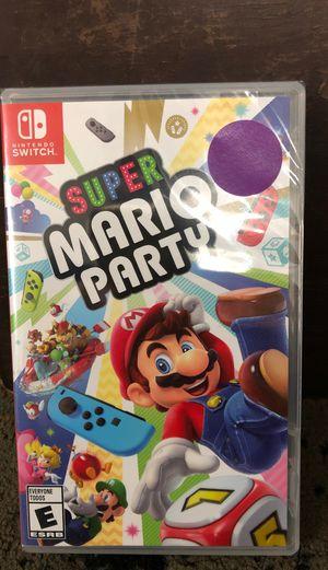 Super mario party nintendo switch for Sale in Detroit, MI