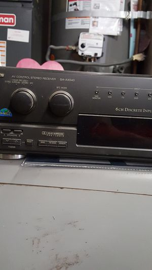 Audio stereo receiver technics for Sale in Chula Vista, CA