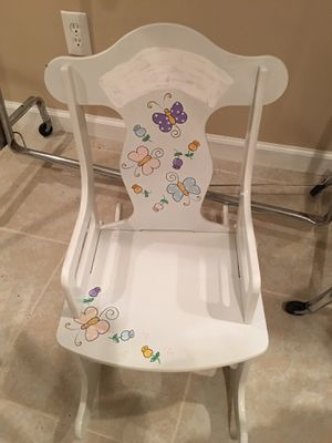Girls rocker rocking chair for Sale in Oakdale, PA
