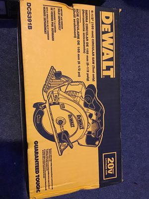BRAND NEW (unopened box) DEWALT CIRCULAR SAW for Sale in Albany, OR