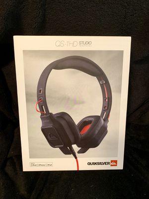 Quiksilver QS-1HD headphones for Sale in Kapolei, HI