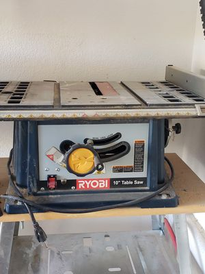 Ryobi Table Saw for Sale in Las Vegas, NV