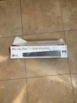 LG Blu-Ray/ DVD Player for Sale in Placentia, CA