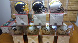 San Diego/L A Chargers throwback mini helmets. for Sale in Haymarket, VA
