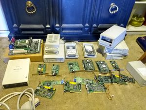 Vintage computer parts for scrap or repair for Sale in Victorville, CA