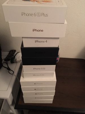 iPhone 4-6 Original boxes for sale each or all for best offer (normally $10-15 each) for Sale in Miami, FL