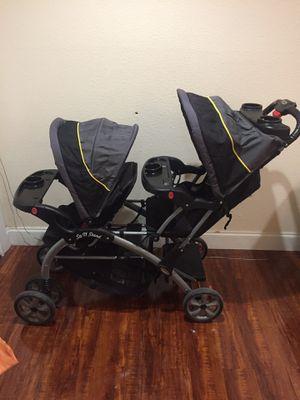Double Stroller Baby Trend $110 OBO for Sale in Dallas, TX