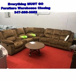 Sectional sofa. Must Go for Sale in Queens,  NY