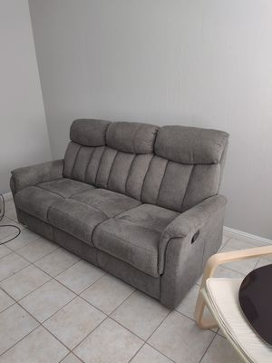 Nice comfortable reclining couch. $400 for Sale in San Jose, CA