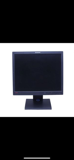 New. Box never even opened. ThinkVision Computer monitor. Monitor model # L1711P for Sale in Chicago, IL