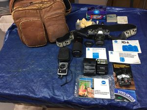 Minolta XD5 Camera and supplies for Sale in Jamestown, NC