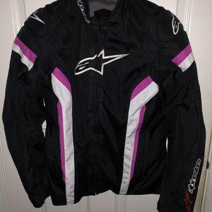 Alpinestar Stella T-GP plus Rv2 Air Motorcycle Jacket for Sale in Lanham, MD