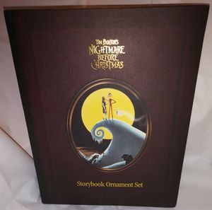 Nightmare Before Christmas Storybook Ornament Set for Sale in Seattle, WA