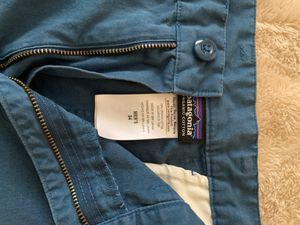 Patagonia Blue Shorts (size 34) for Sale in Tracy, CA