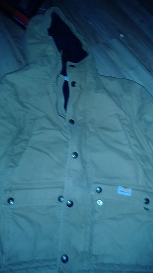 Boy's size 10 carhart heavy insulated coat for Sale in Dansville, MI