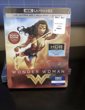 Wonder Woman steelbook for Sale in San Diego, CA