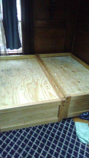 Two twin bed frames w mattress for Sale in Mt. Juliet, TN
