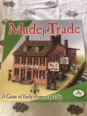 MADE FOR TRADE BOARD GAME ARISTOPLAY EARLY AMERICAN LIFE USA COMPLETE for Sale in Newport Beach, CA
