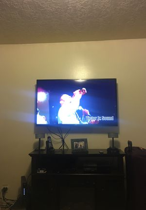 60 inches tv No HDMI , stand and remote for Sale in Salt Lake City, UT