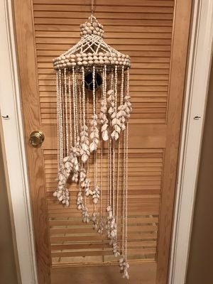 "50"" HANDMADE SEASHELL WINDCHIME GARDEN/DECORATION for Sale in Gaithersburg, MD"