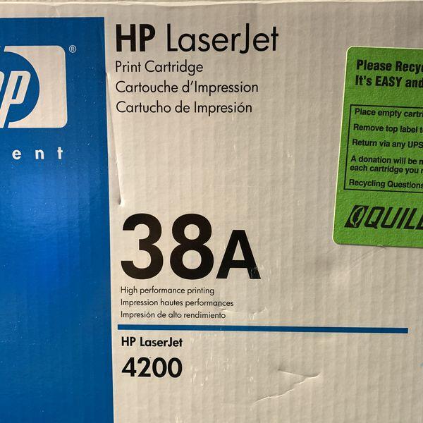 NEW Open Box HP LaserJet 38A Print Toner Cartridge Q1338A