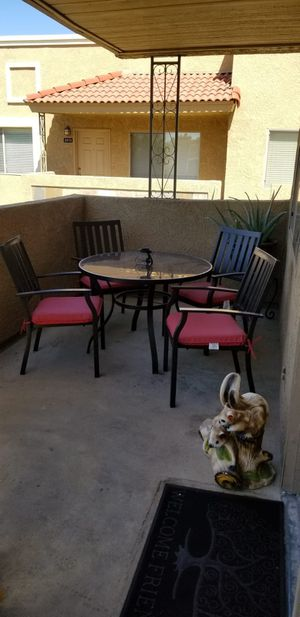 TABLE AND FOUR CHAIRS for Sale in Scottsdale, AZ