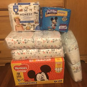 Huggies And Pampers for Sale in Fresno, CA