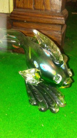 Murano Fish Sculpture Italy for Sale for sale  Irvington, NJ