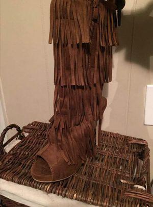 Fringe boots for Sale in Valdosta, GA