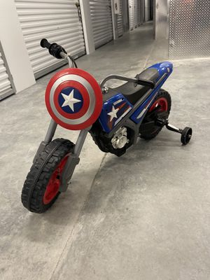 Captain America Power Wheels Motorcycle for Sale in Lutz, FL