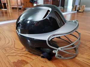 Easton Bell Sports Baseball Batting Helmet w/Mask TSA Natural 2Tone BKSL 8000219 Size 6 3/8 - 7 1/8 for Sale in Monterey Park, CA