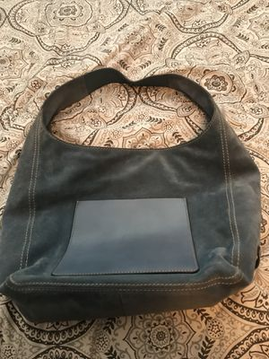 Michael Kors blue suede hobo bag for Sale in Hayward, CA
