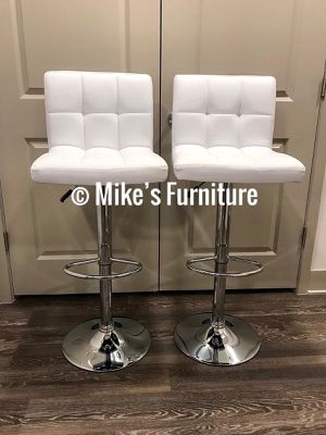 New Adjustable Bar Stools, barstools, barstool, bar stool, Sillas, Dining Chairs, chair, chairs, cadeiras (5 colors Red, Black, White, Brown, Gray) for Sale in Sunrise, FL