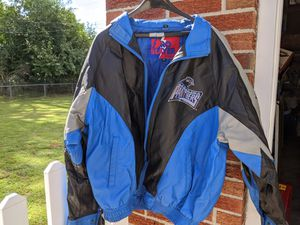 Leather Carolina Panthers Jacket for Sale in Toledo, OH