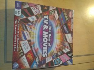 New the best of TV & movies board game for Sale in Murfreesboro, TN