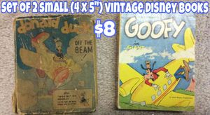 Small vintage Disney books for Sale in Valley Park, MO