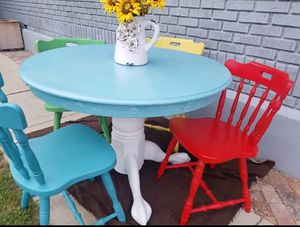 Kitchen table and 4 chairs for Sale in Ogden, UT