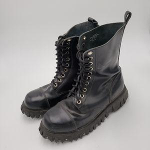 TUK Mens Leather Boots (Doc Marten style( for Sale in Aurora, CO