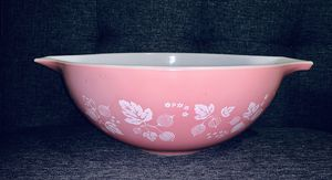 Vintage Pyrex Pink Gooseberry Cinderella Mixing Bowl for Sale in Eugene, OR