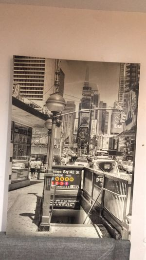 New York time square wall decoration for Sale in Chula Vista, CA