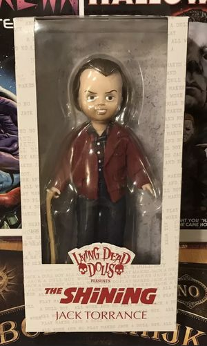 Mezco Living Dead Dolls The Shining movie Jack Torrance doll action figure toy sealed NIB Halloween for Sale in Beverly Hills, CA