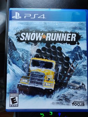 SnowRunner PS4 for Sale in Stoughton, MA