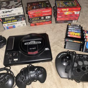 Sega Genesis with 29 Games and accessories included for Sale in Elyria, OH