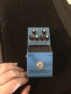 Amp, distortion box and Monster guitar cable with carry bag for quick sale. for Sale in Everett, MA