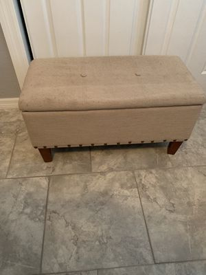Free upholstered storage bench for Sale in Tarpon Springs, FL